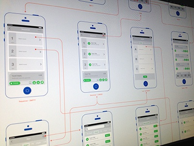 Wireframes wireframes user flow screen mobile app iphone ios audio player