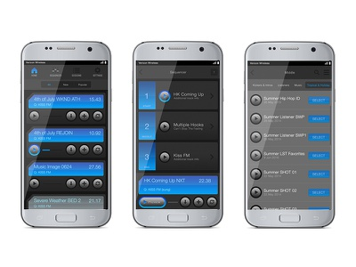 Phantom App galaxy samsung production radio remix mixer sequencer sound android player audio app