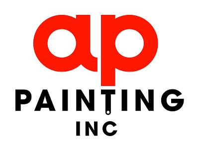 AP Painting Logo. international branding logo