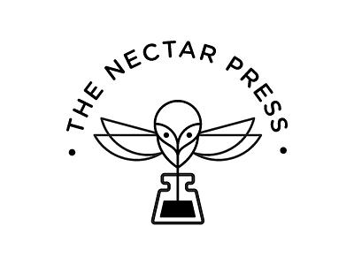 Logo for The Nectar Press branding logo