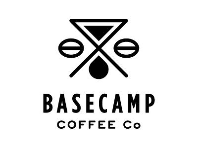 Basecamp Coffee branding logo