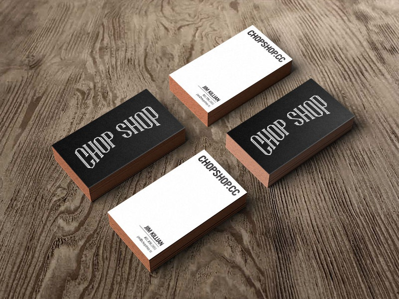Business card mockupdrb