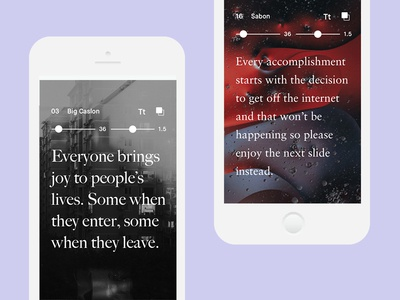 Killing the Quick Brown Fox - Mobile clean design desktop mobile tablet showcase font image typography type