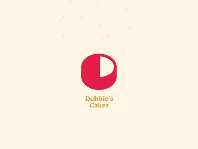 D Monogram • Debbie's Cakes (Concept)