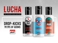 Lucha - Fight them Germs.