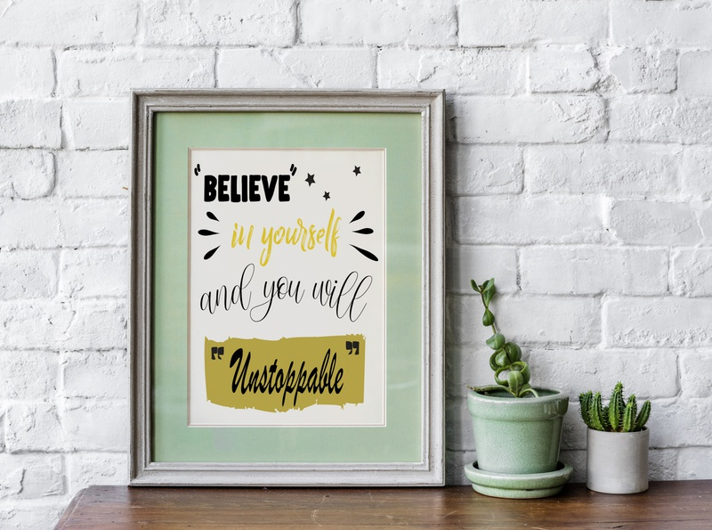 Believe in yourself and you will Unstoppable powerful good vibes quotes positive vibes