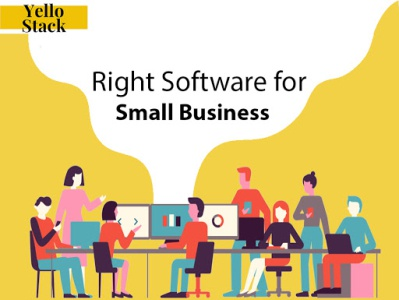 How to choose right software for small business yellostack