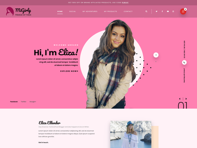 Buy Girly WordPress Theme For Attractive Feminist Websites girly wordpress theme