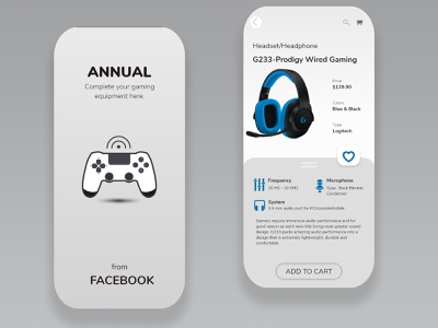 "Mobile app store ""Annual"" gaming junior xd design photoshop mobile ui mobile app ui design indonesia graphic design"