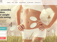 Slimming Machine Website