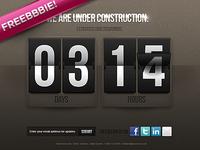 Under Construction Counter.psd (Freebbbie!)