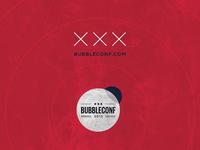 AMSTERDAM Bubbleconf Poster