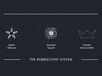 the Bubbleconf system