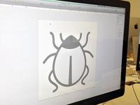 Designing bugs, literally