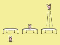 Bunny Trampoline