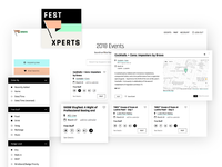 Festxperts Events page