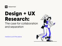 Medium Post – Design + UX Research