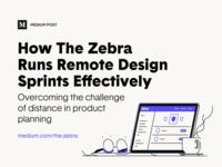 Medium Post – Running Remote Design Sprints