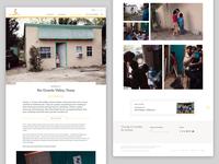 Page mockup ux graphic design adobe xd ui design web design