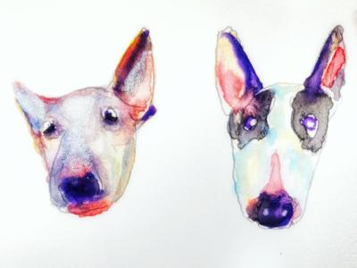Dogs portrait series no. 1
