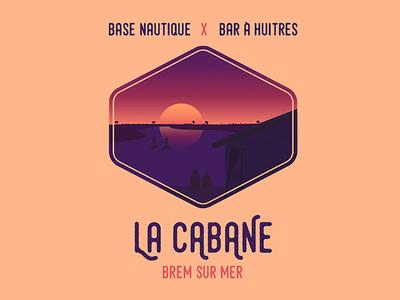 Logo La Cabane personalwork illustration