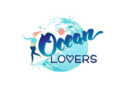 Ocean Lovers branding illustration logo illustration website illustration brand illustration branding brand identity wave logo waves vector illustration vector digital illustration illustration design illustration art ocean illustration surf art surfing surf ocean art illustration ocean logo ocean