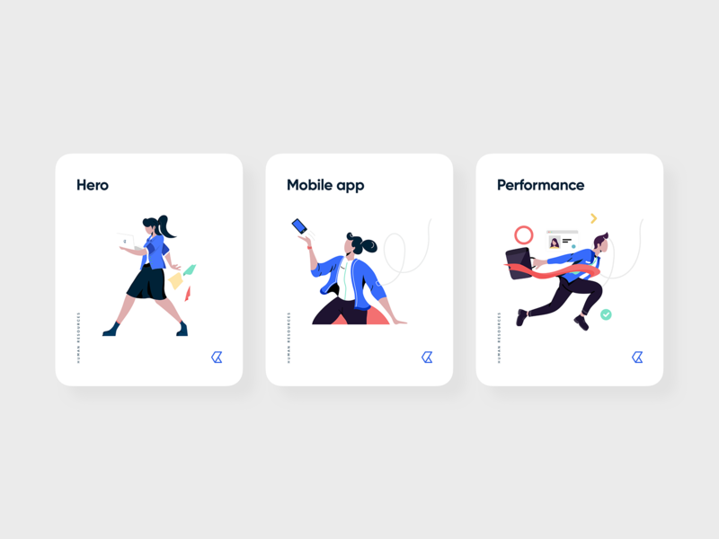 Kolay Illustrations web ui vector branding logo illustration mobile design