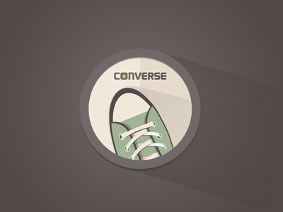 Converse Flat Icon