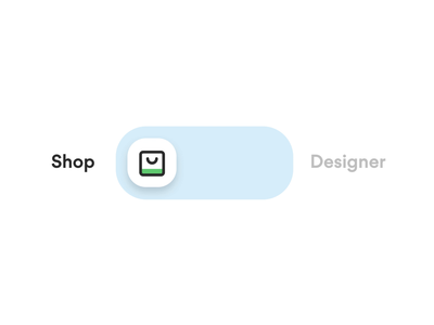 Printmeet - Shop / Designer Switch on off button animation switch button animation illustration landing app mobile design web ux ui