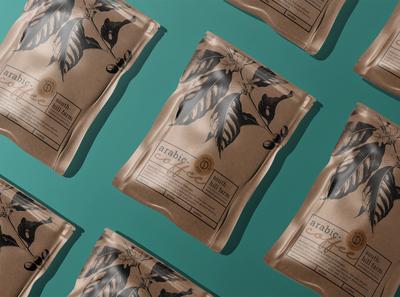 Coffee Packaging Mockup packaging mockup coffee mockup coffee bag coffee branding 3d