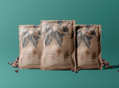 Coffee Packaging Mockup mockup packaging coffee bag coffee branding design coffee mockup 3d