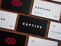 Captive Business Cards