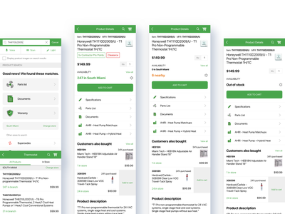 Product search and product details user flow sketchapp interaction design ios android mobile app development mobile app mobile uiux user experience user interface