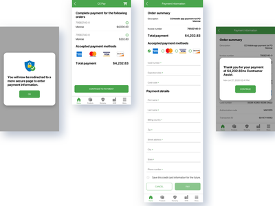 Mobile Pay feature user flow sketchapp interaction design ios android mobile app development mobile app mobile uiux user experience user interface