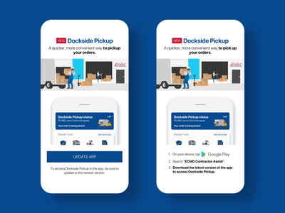 Dockside Pickup push notifications sketch app uiux marketing interaction design ios android mobile app design mobile app mobile user experience user interface