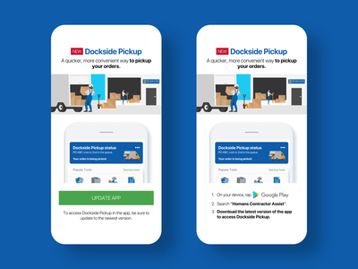 Dockside Pickup push notifications user interface marketing sketch app interaction design ios android mobile app design mobile app mobile uiux user experience