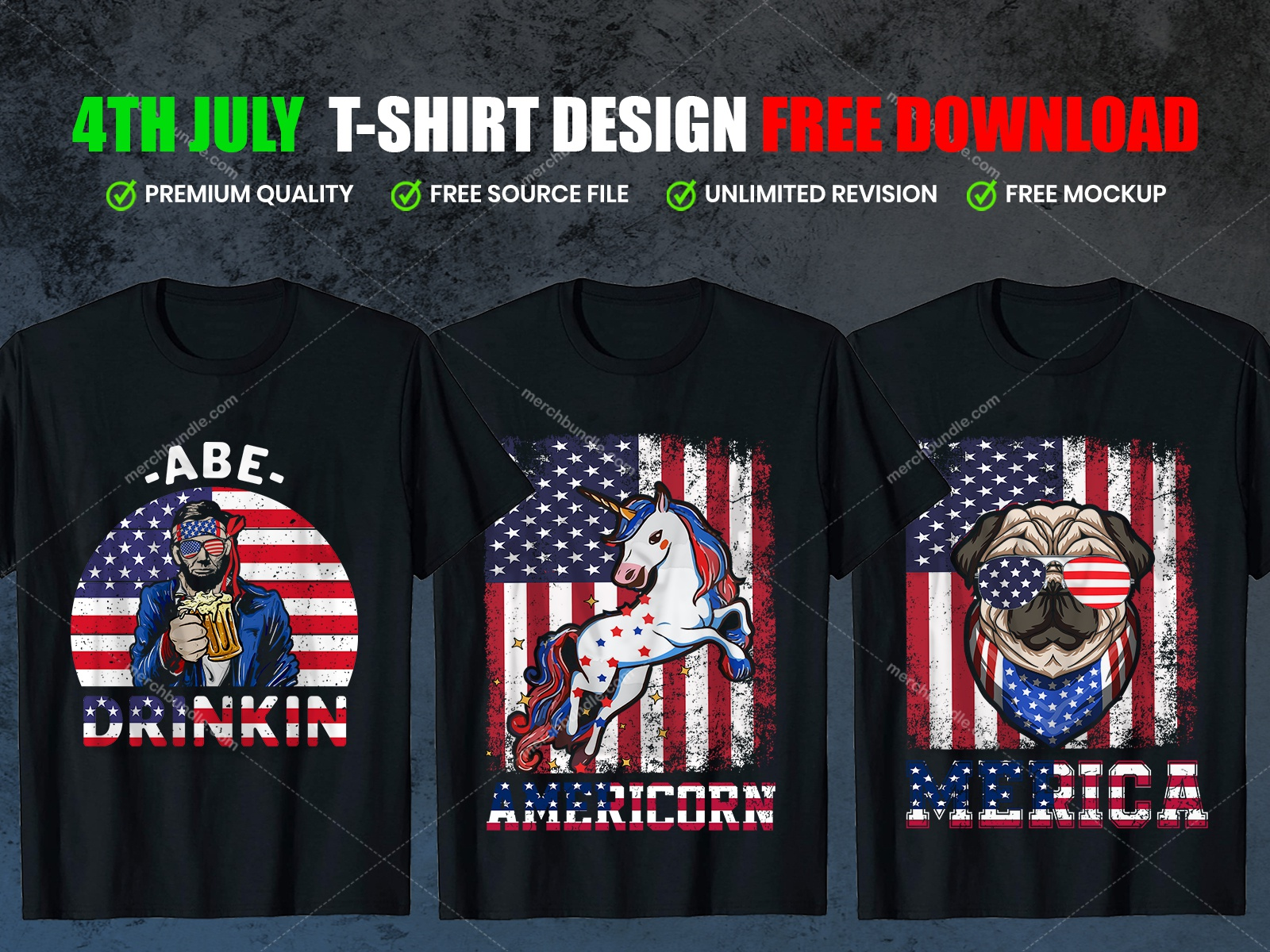 4th July T Shirt Design Free Download By Shohagh Hossen On Dribbble