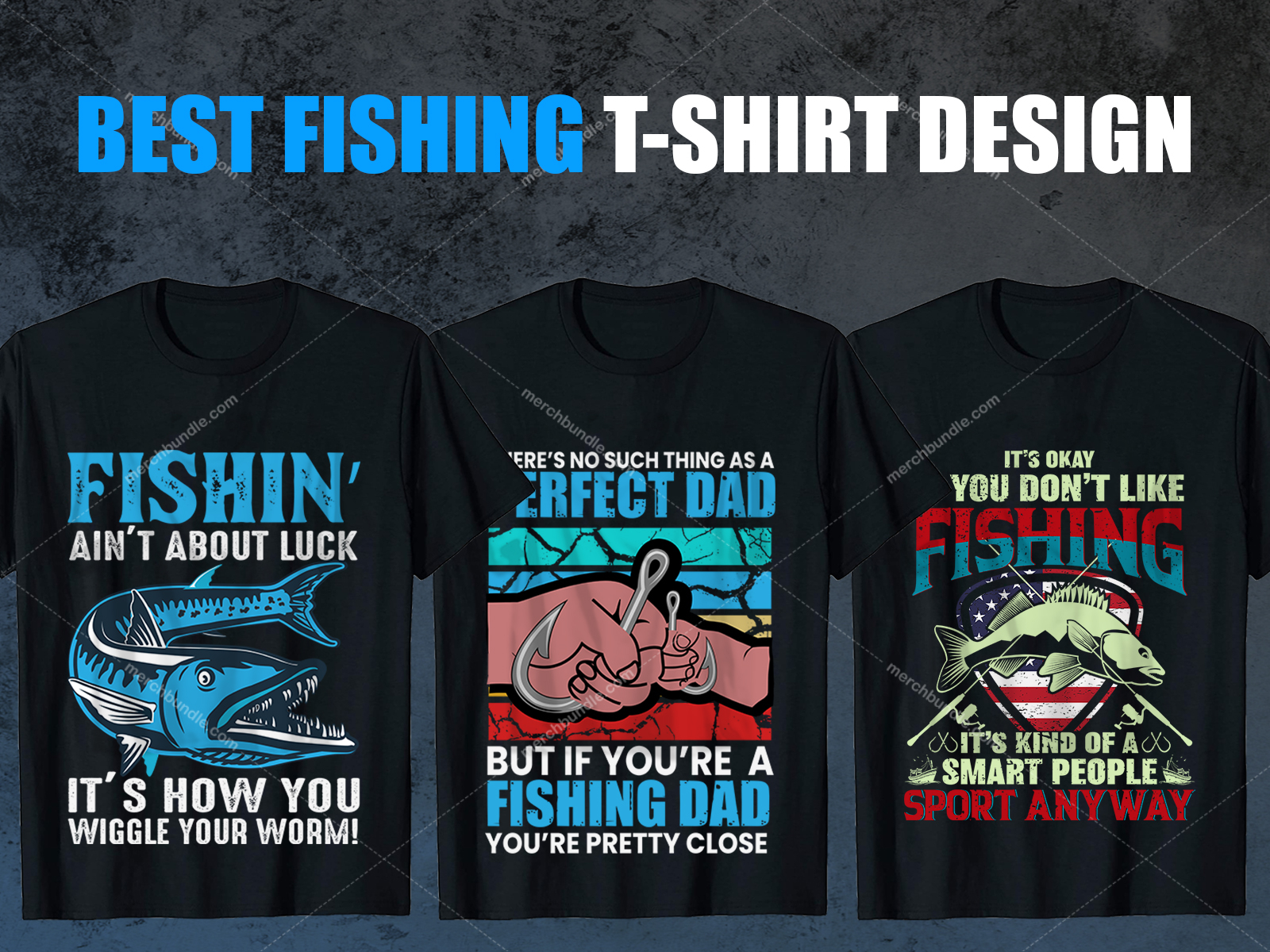 50 Fishing T Shirts Design Bundle By Shohagh Hossen On Dribbble