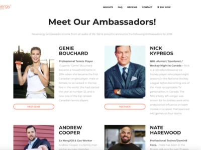 Neuenergy Ambassador Program 2018