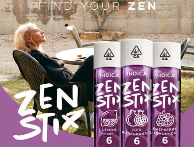 Zen Stix - Banner