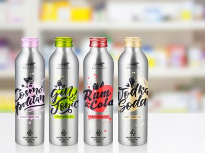 Plantation Spirits - Bottle Mockups