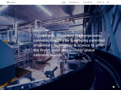 Cryopharm - Corporate Website