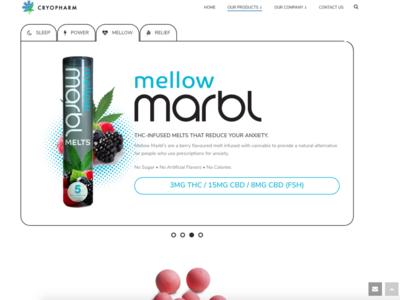 Cryopharm - Marbl Melts Website (Pt 2)