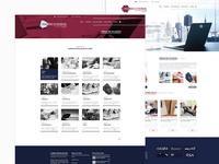 MAZIERO E MORAIS . Homepage Website Layout