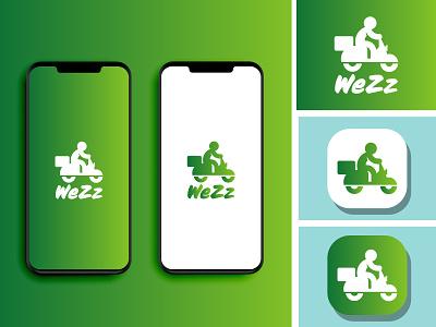 WeZz logo icon design app