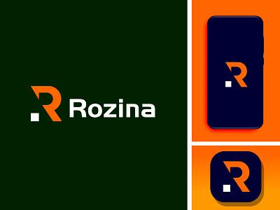 Rozina graphic design branding flat illustrator illustration minimal design icon app logo