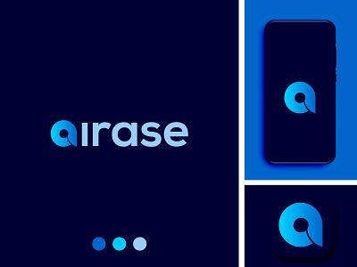 airase graphic design flat branding illustrator illustration minimal design logo icon app