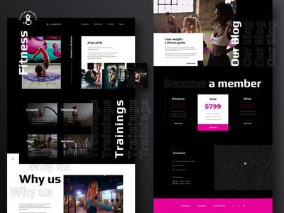 Fitness Monkeys Website