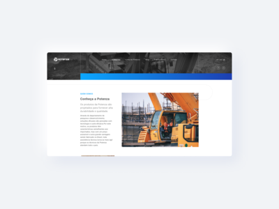 Potenza - Website UI