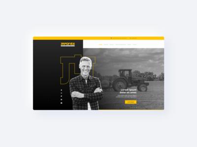 Trucks - Website UI